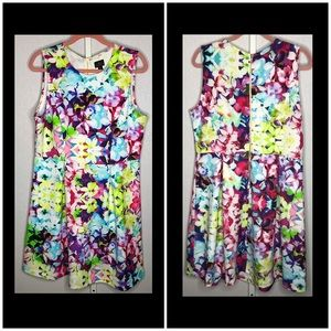 Worthington Size XL Floral Printed Dress